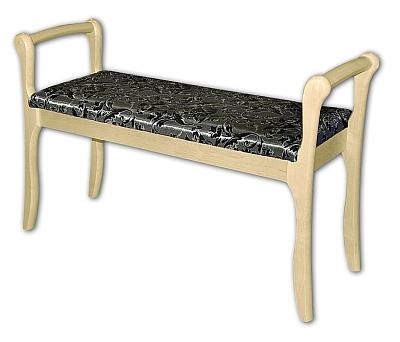 Скамья для прихожей с подлокотником